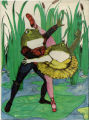 Frogs and the Ballet jigsaw puzzle